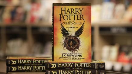 JK Rowling's Harry Potter and the Cursed Child has been shortlisted for children's book of the year