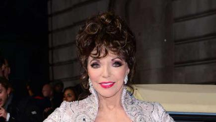 Has Joan Collins signed up for Strictly?