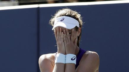 Watch Johanna Konta win her first WTA title