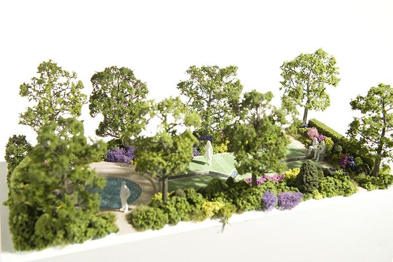 First 3d printed garden in pictures - Garden design john brookes ...