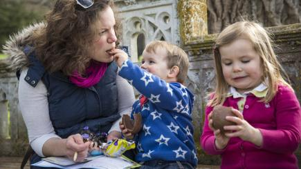 Join an Easter Egg trail and become an Easter Eggsplorer