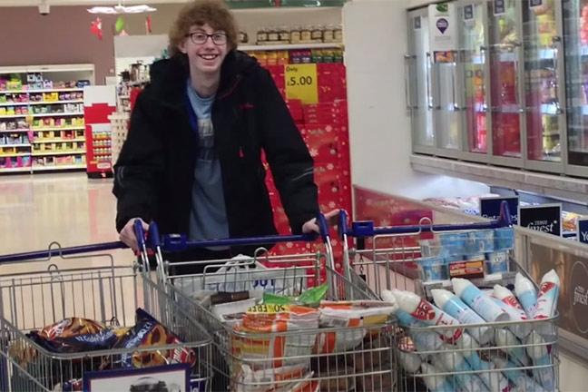 Coupon Kid Buys 572 Of Food For 4p Bt