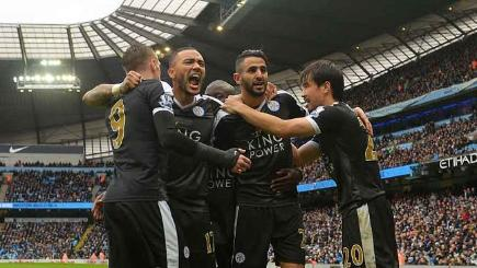Joy of six as Leicester run riot at Man City