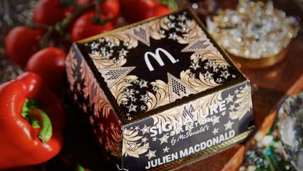McDonalds Signature Collection is in vogue with new designer collaboration