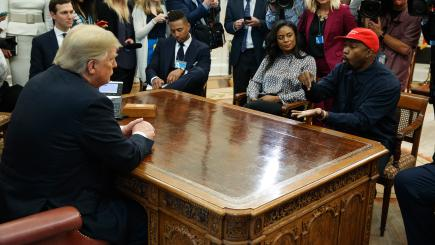 Kanye West Swears In Oval Office During Extraordinary
