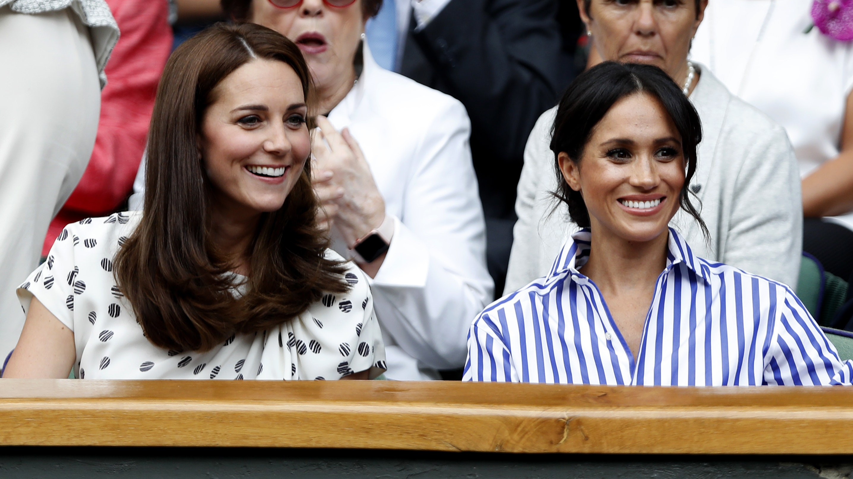 Meghan Markle Attends Wimbledon Final with Kate & Pippa Middleton!