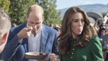 Kate and William trying geoduck