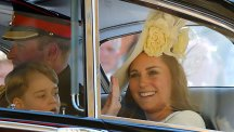 Kate at Harry and Meghan's wedding