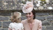 Kate at Pippa's wedding