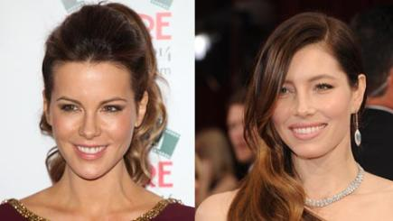 Kate Beckinsale and Jessica Biel