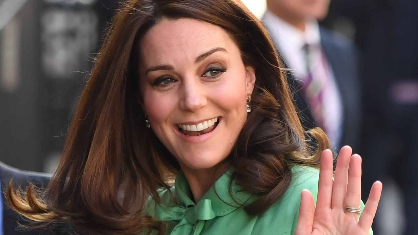 Kate Middleton in pictures: The Duchess of Cambridge meets SportsAid stars