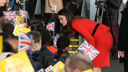 Kate talks about the qualities she hopes to impart to her children
