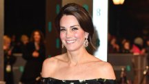 Kate Middleton at the EE BAFTA British Academy Film Awards, Arrivals, Royal Albert Hall