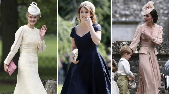 Pippa S Wedding.Kate Middleton Leads The Best Dressed Guests List At Sister Pippa S
