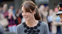 Kate Middleton looked impeccable in a chic, grey dress as she attended a charity event in London