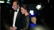Kate wows the crowds in lace