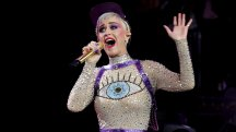 Katy Perry thanks Glastonbury for making her cool