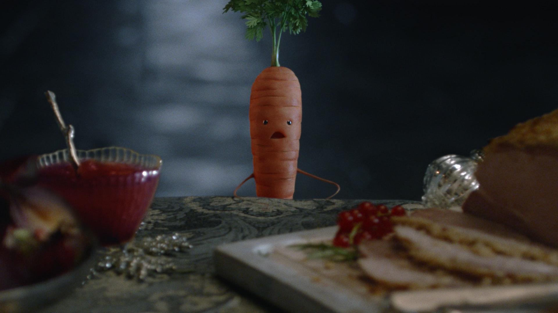 kevin the carrot returns for aldi christmas campaign bt. Black Bedroom Furniture Sets. Home Design Ideas