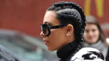 Kim Kardashian rocking the Boxer braid