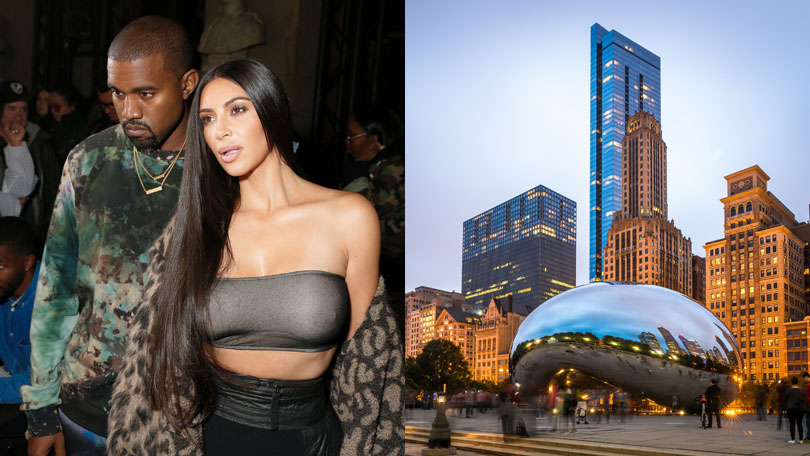 Kim and Kanye, Chicago