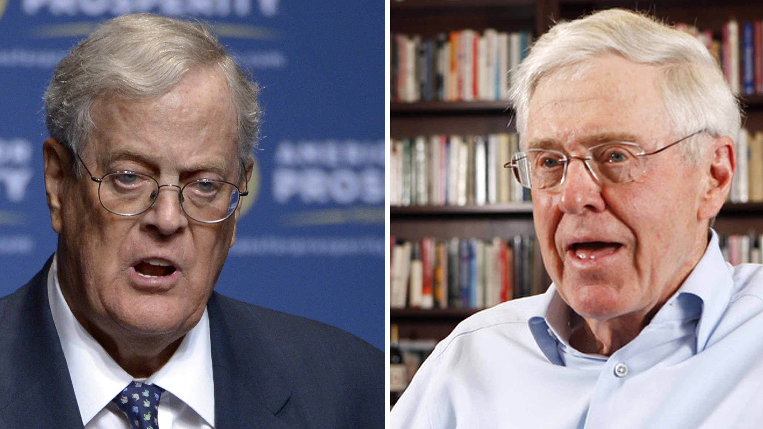 Clash of GOP titans as Trump v. Kochs feud escalates