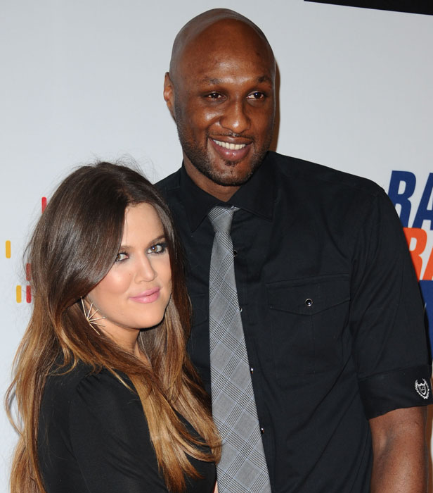 Khloe married LA Lakers basketball player Lamar Odom in September 2009, exactly one month after the pair met