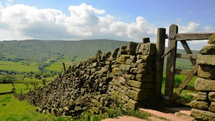 Stone wall in Lancashire