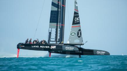 BT boosts Land Rover BAR's America's Cup bid
