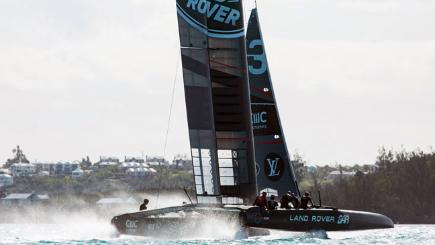 Land Rover BAR shine in America's Cup opener