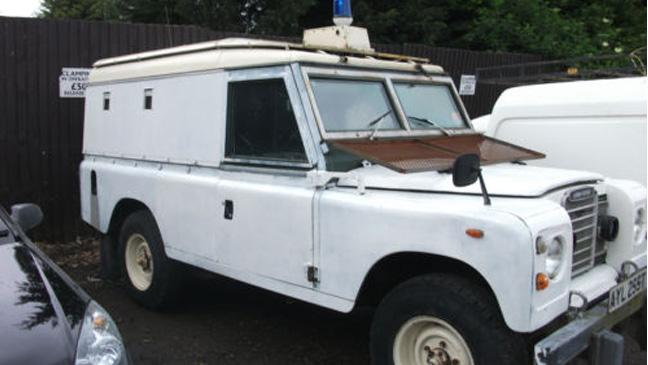 Emby siege Land Rover up for auction - BT