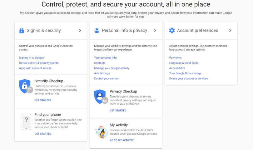 The Easy Way To Manage Your Google Privacy Settings