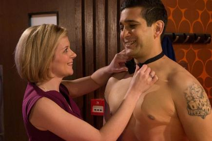 Leanne Tilsley and Kal Nazir will give in to their feelings for each other in Coronation Street