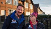 Lee Mack and Jo Brand