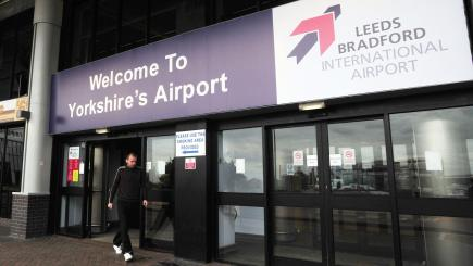 Leeds Bradford Airport reopens after bomb squad destroys suspicious package