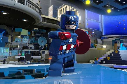 Lego movie games Marvel Super Heroes