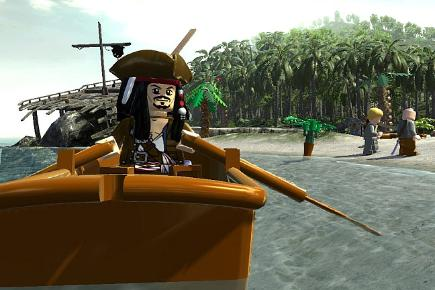 Lego movie games Pirates of the Caribbean