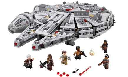 Lego Millennium Falcon with minifitures