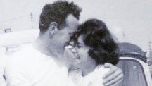 Len and his wife in 1966