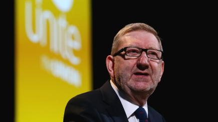 Challenger to McCluskey for Unite leadership suspended from role