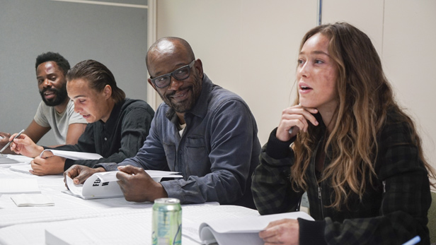 Lennie James script read for Fear the Walking Dead season 4