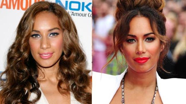 celebrities' changing faces