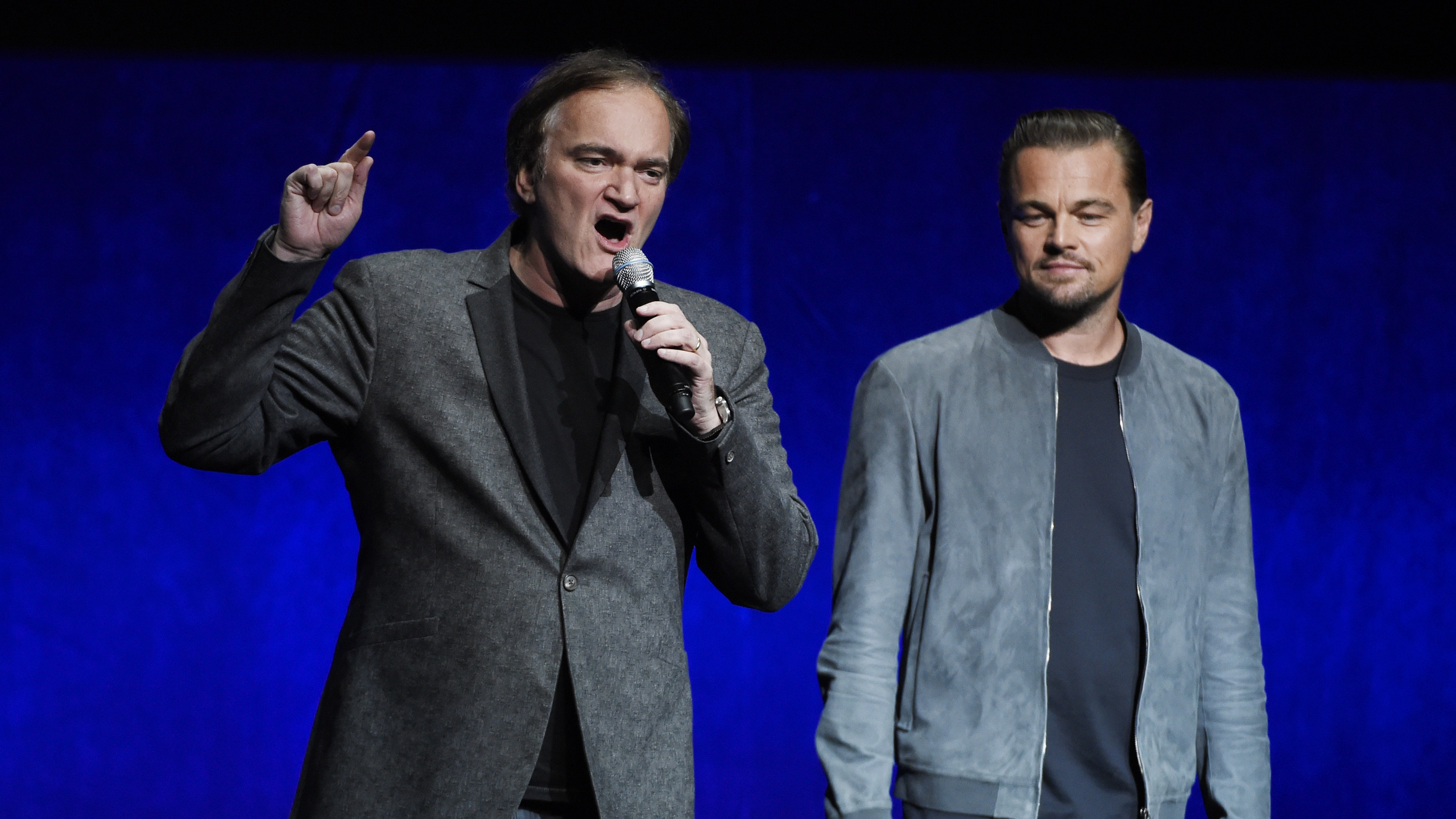Leonardo Dicaprio And Quentin Tarantino Tease Once Upon A
