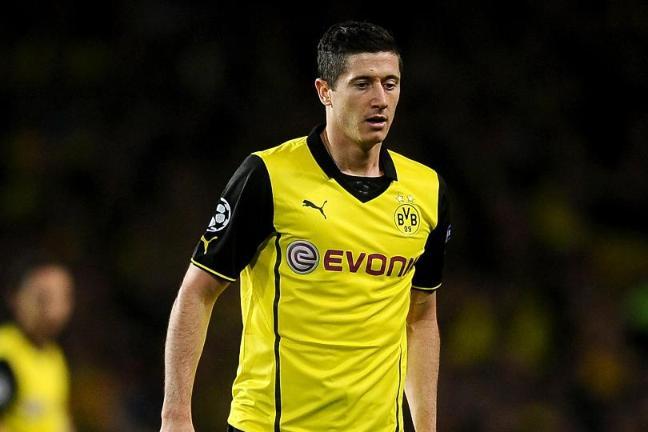 timeless design 7aeb5 1a325 Lewandowski suspended for Dortmund - BT