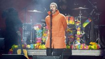 Liam Gallagher dedicates Glastonbury song to terror and fire victims