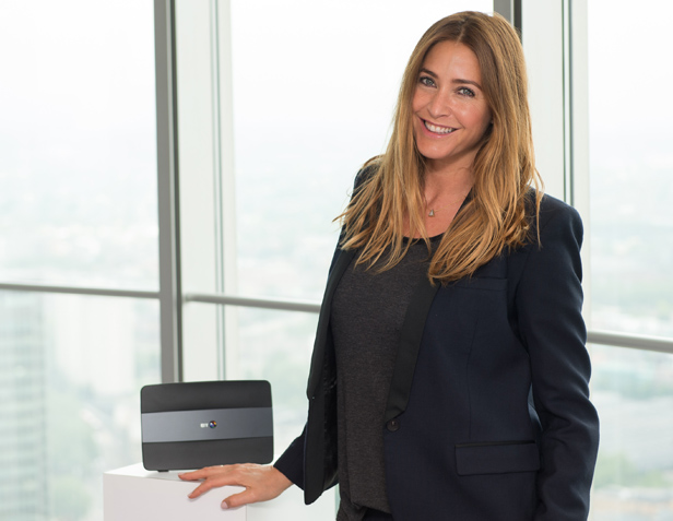 Lisa Snowdon BT Smart Hub