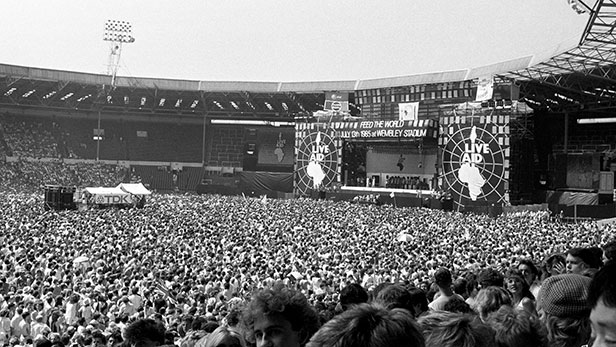 Live Aid, Wembley Stadium