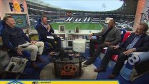 Liverpool legend John Barnes treats Fletch and Sav to his famous rapping skills