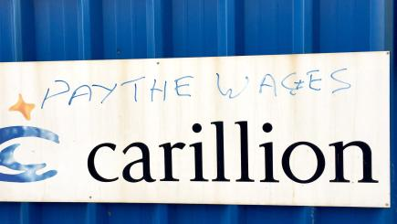 Jobs must be safeguarded following Carillion collapse