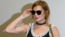 Lindsay Lohan revealed she is targeting Oscars glory.