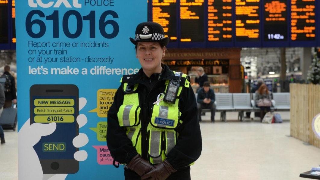 Longest serving female british transport police officer - British transport police press office ...